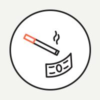 На сколько оштрафовали московских курильщиков виюне. Изображение № 1.