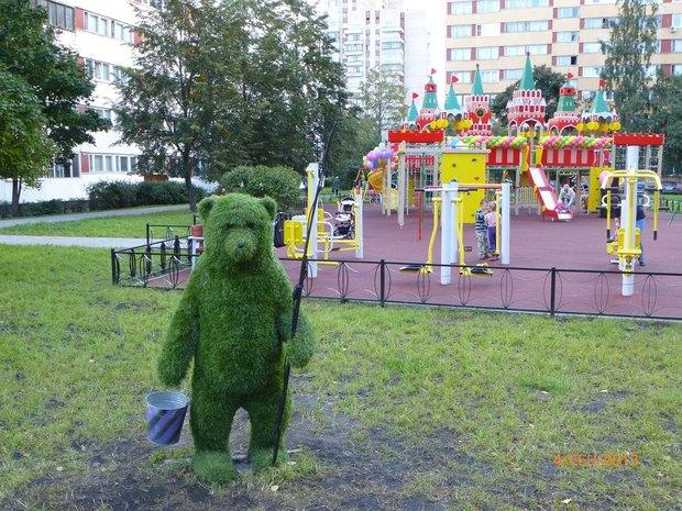 Цифра дня: В городе ставят детские площадки в виде Московского Кремля. Изображение № 3.