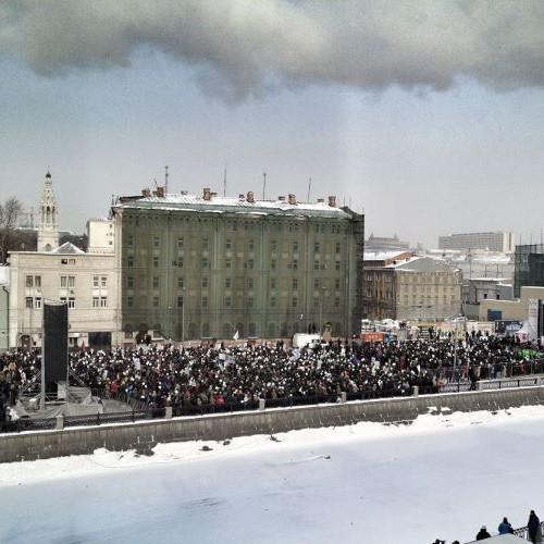 Онлайн-трансляция: Шествие и митинг «За честные выборы». Изображение № 45.