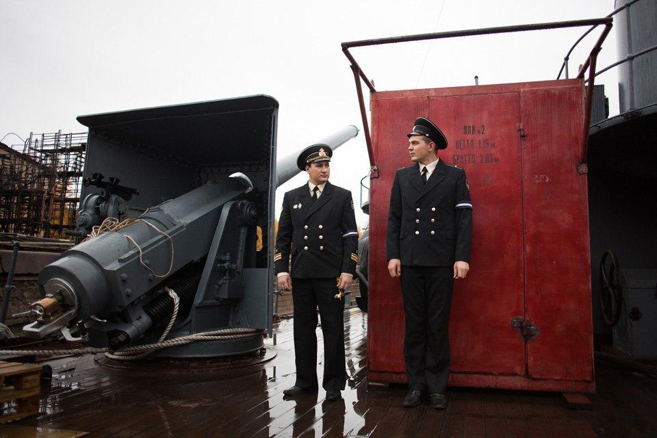 Как ремонтируют крейсер «Аврора». Изображение № 5.