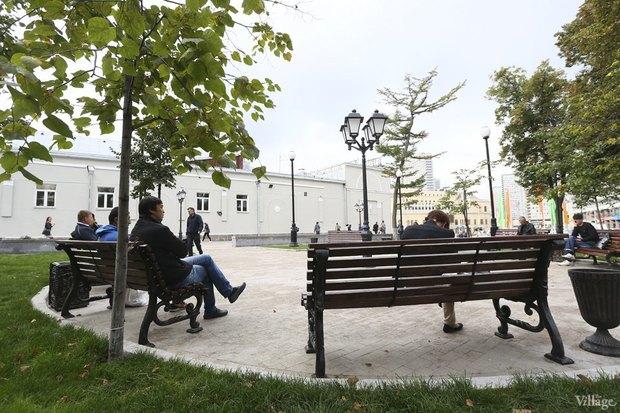 Фото дня: Как выглядит обновлённая Арбатская площадь. Изображение № 5.