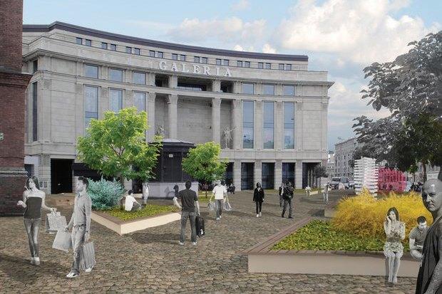 Перестройка: Проект площади перед «Галереей». Изображение № 7.