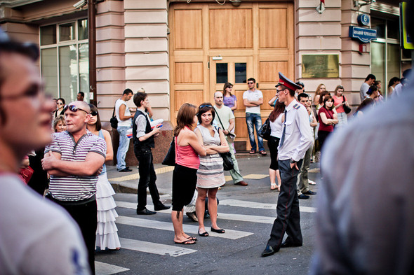 Изображение 24. Copwatch: действия полиции на «Дне гнева» на Театральной площади.. Изображение № 23.