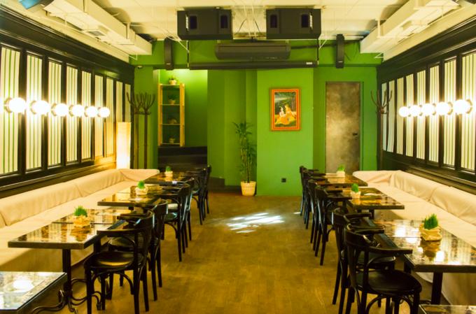 В Мясницком проезде открылось сыроедческое кафе «Шанти Green». Изображение № 1.
