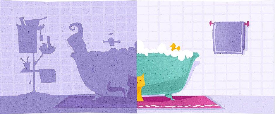 Домпросвет: Нестандартные решения для ванной. Изображение №7.