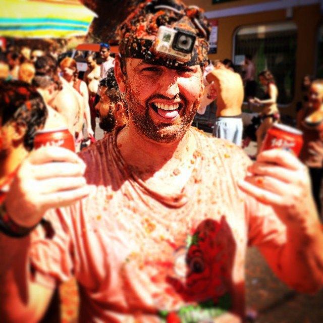 Битва помидорами вИспании вснимках Instagram. Изображение № 25.