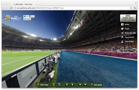 УЕФА предлагает отметить себя на интерактивной фотографии с Евро-2012. Изображение № 2.