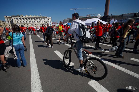 Спорт в городе: Пробег роллеров, велопарад и «Русская пробежка». Изображение № 7.