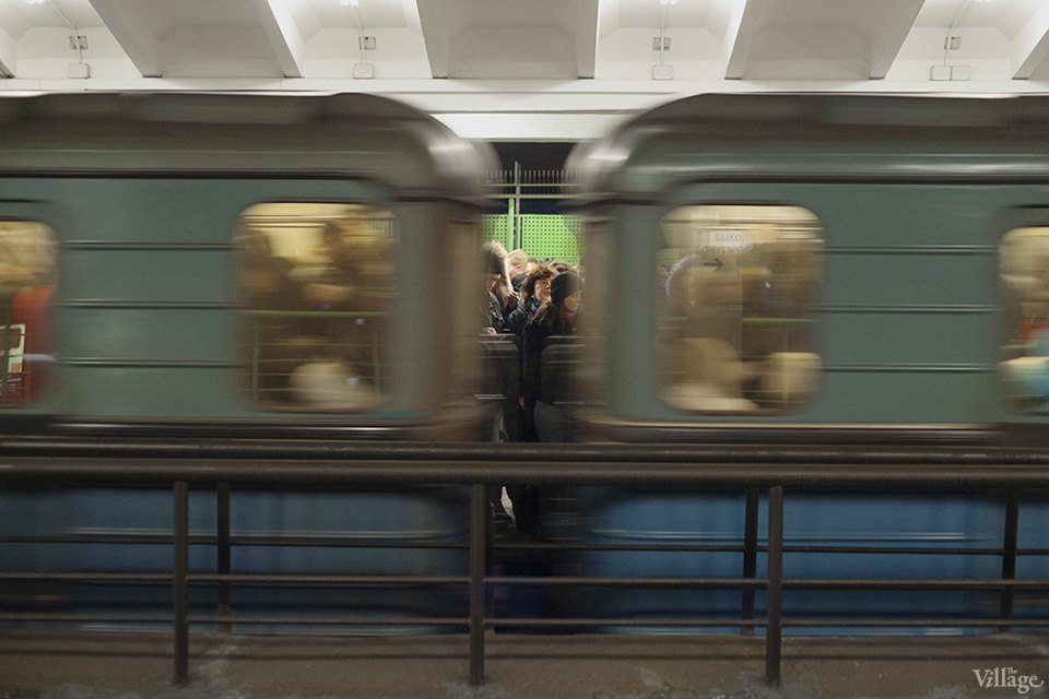 Фоторепортаж: Час пик на станции «Выхино». Изображение № 8.
