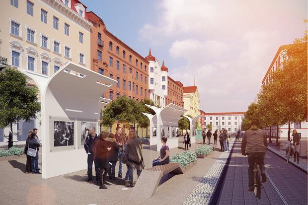 Проект развития района вокруг Конюшенной площади. Изображение № 3.