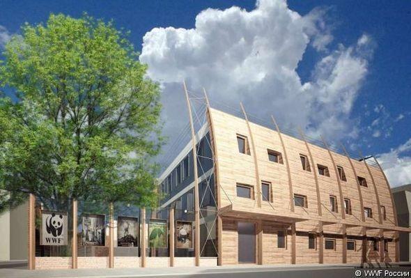 Изображение 3. В Москве построят новый «зеленый» офис.. Изображение № 3.