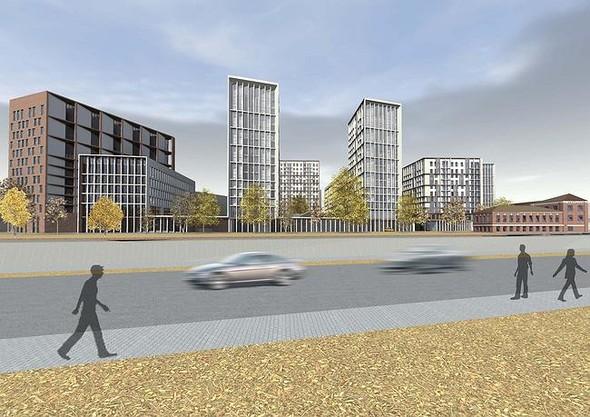 На набережной Яузы построят многофункциональный жилой комплекс. Изображение № 1.