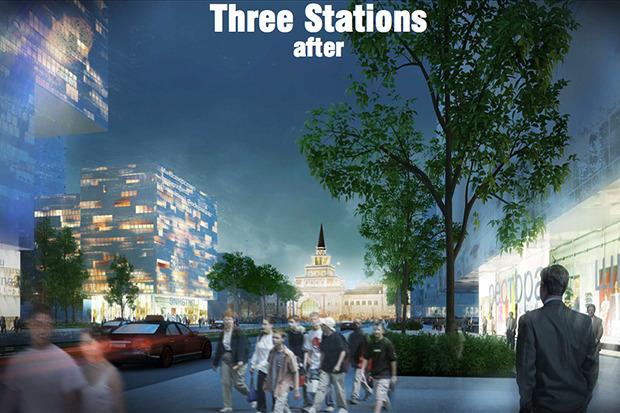 Представлены доработанные проекты развития Московской агломерации. Изображение № 6.