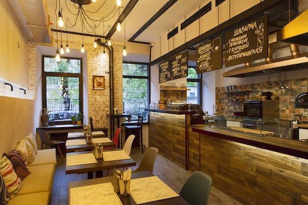 На Малой Бронной открылось кафе ближневосточной кухни Laffa Laffa. Изображение № 4.