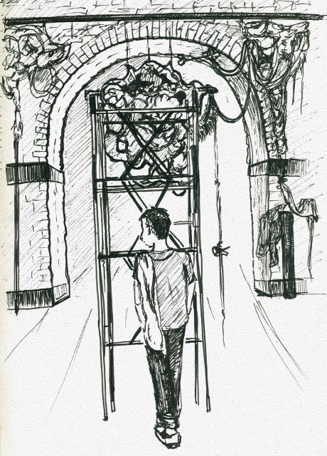 Монтаж IVМосковской международной биеннале молодого искусства. Изображение № 11.