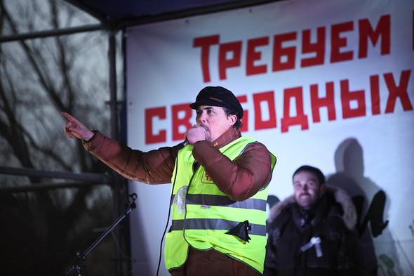 Фоторепортаж: Митинг против фальсификации выборов. Изображение № 30.