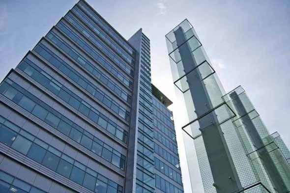 Бизнес-центр «Дукат-плейс III на улице Гашека. Первое офисное здание в Москве, получившее сертификат BREEAM. Изображение № 2.