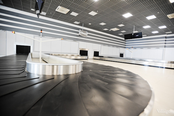 Фоторепортаж: Новый терминал аэропорта Киев — за день до открытия. Зображення № 23.