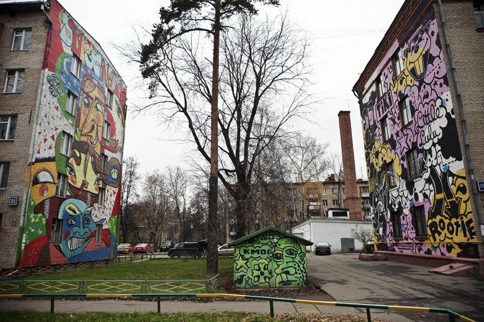 Камера наблюдения: Москва глазами Марка Боярского. Изображение №11.