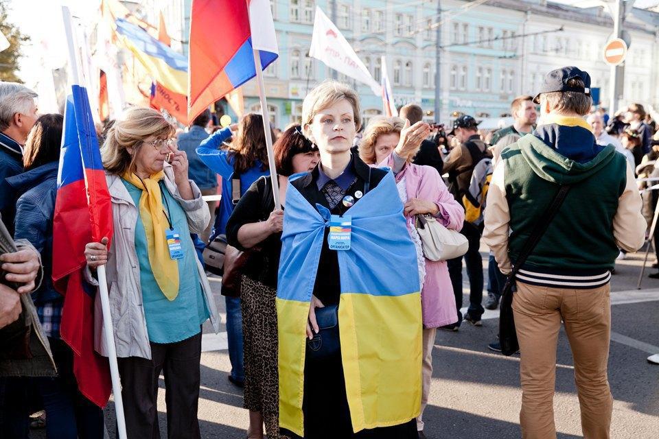 Участники и лозунги «Марша мира». Изображение № 13.