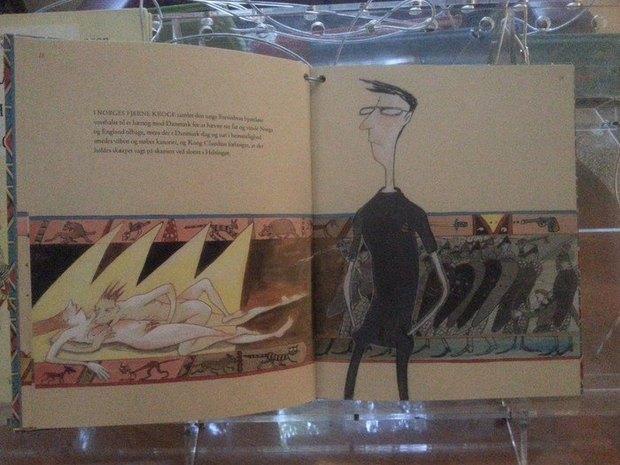 Издание «Гамлета» с откровенными иллюстрациями изъяли с детской выставки. Изображение № 1.
