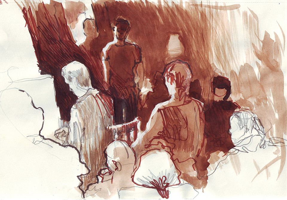 Клуб рисовальщиков: Музыканты. Изображение № 15.