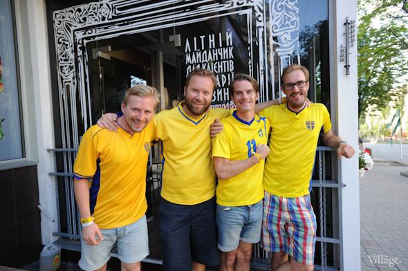 По домам: Шведы прощаются с Киевом. Зображення № 1.