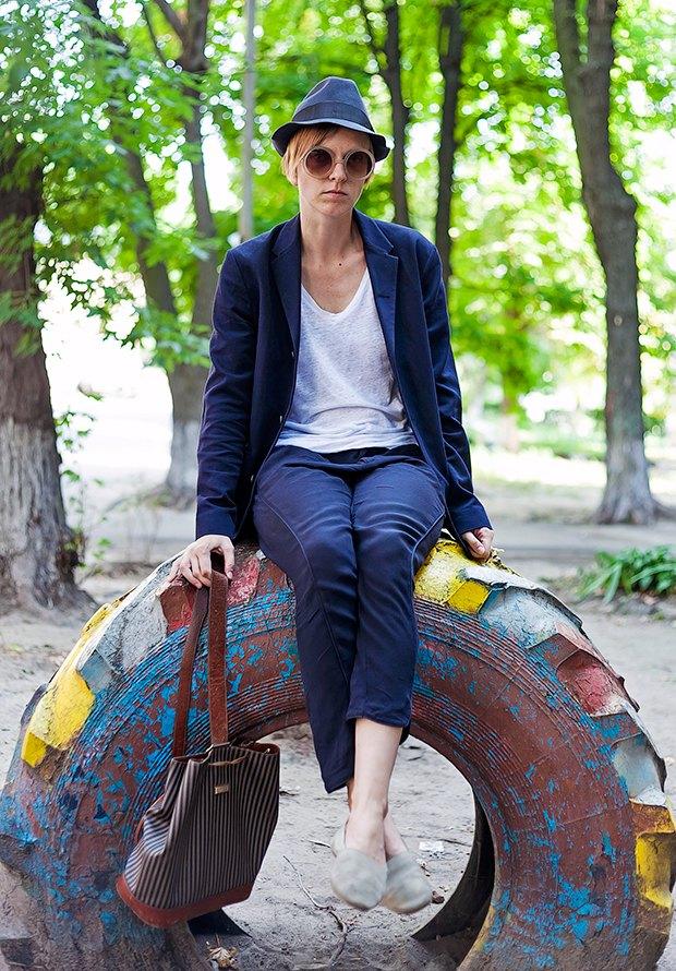 Внешний вид (Киев): Таня Кремень, соосновательница магазина «Пюре». Изображение № 1.