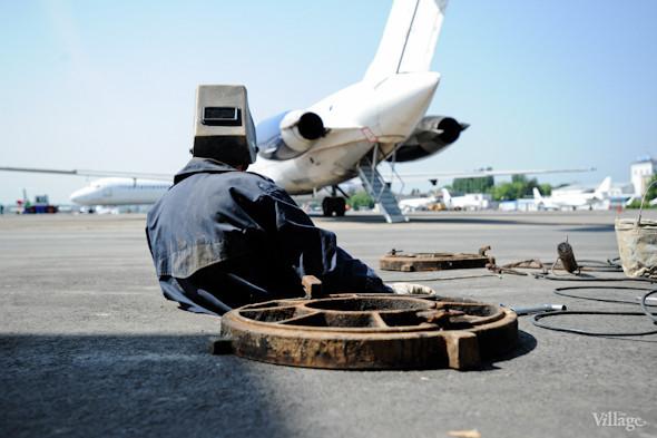 Фоторепортаж: Новый терминал аэропорта Киев — за день до открытия. Зображення № 36.