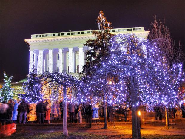 В декабре центр Киева украсят иллюминацией. Зображення № 1.