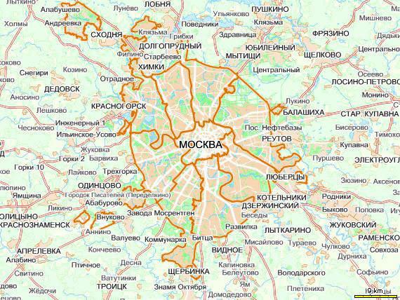 Изображение 1. Президент Дмитрий Медведев предложил расширить границы Москвы.. Изображение № 1.