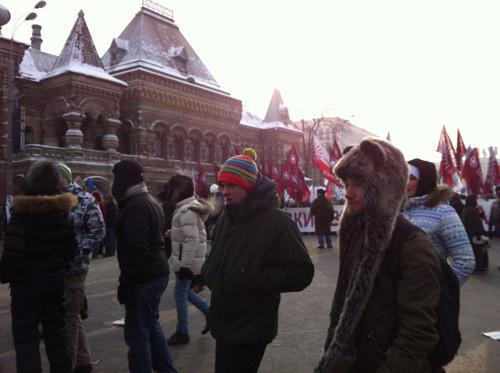Онлайн-трансляция: Шествие и митинг «За честные выборы». Изображение № 78.
