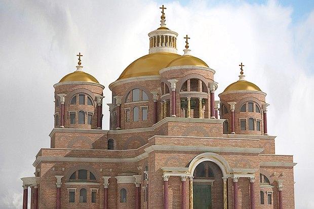 Рендер собора Сошествия Святаго Духа на Апостолов. Изображение № 11.