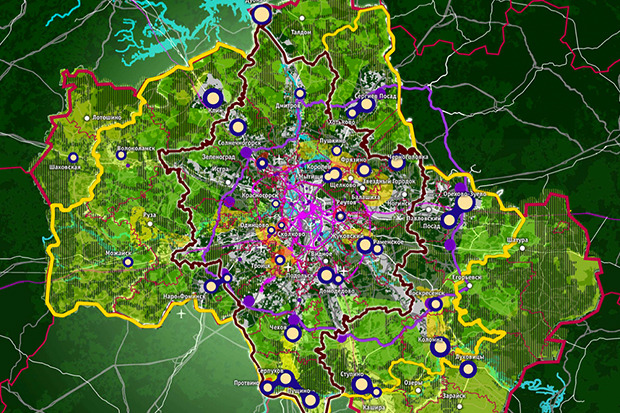 Представлены доработанные проекты развития Московской агломерации. Изображение № 5.