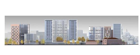 На набережной Яузы построят многофункциональный жилой комплекс. Изображение № 13.