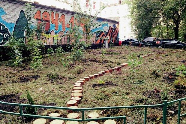 Во дворе жилого дома на Патриарших разбили сад. Изображение № 5.