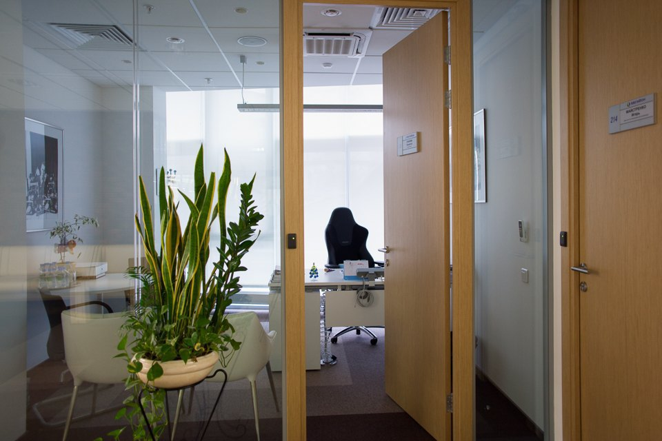 Интерьер кабинетов руководителей