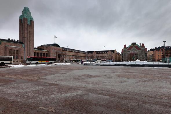 В Хельсинки снег утрамбовывают и посыпают каменной крошкой. Изображение № 13.