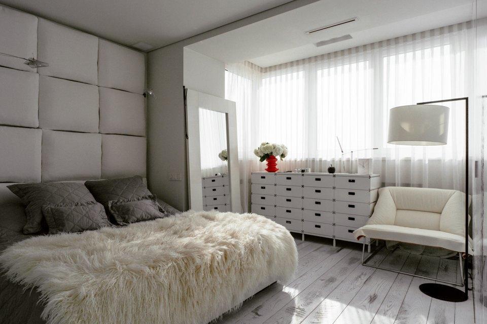 Минималистская двухкомнатная квартира наМожайском шоссе. Изображение № 19.