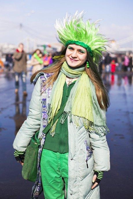 Люди в городе: Участники парада вчесть Днясвятого Патрика. Изображение № 27.