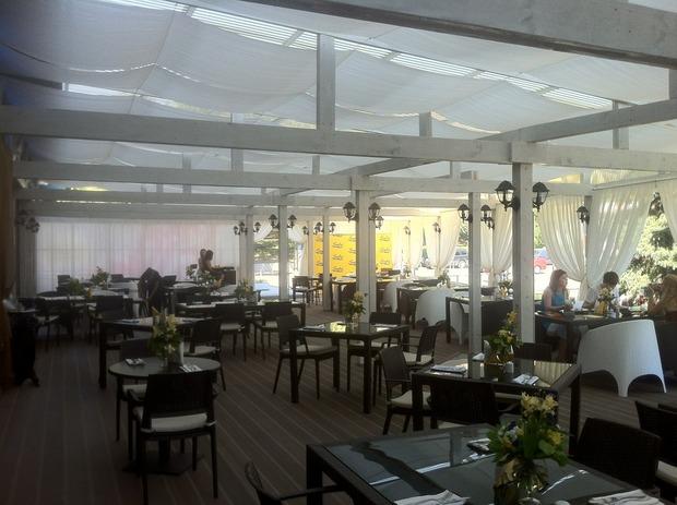 На Красной Пресне открылся первый ресторан сети Serafina. Изображение № 2.