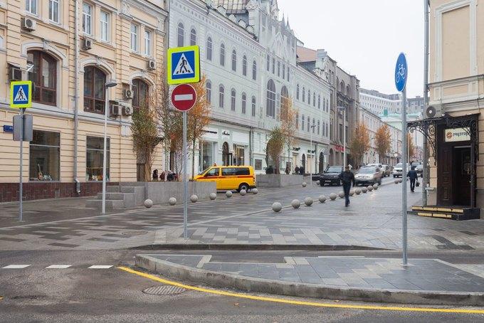На Неглинной улице появились сквер и велодорожка . Изображение № 3.