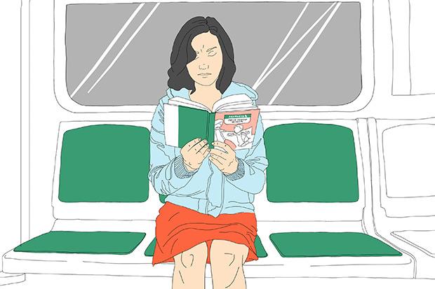 Эксперимент The Village: Сколько поездок в метро нужно, чтобы прочитать книгу?. Изображение № 7.