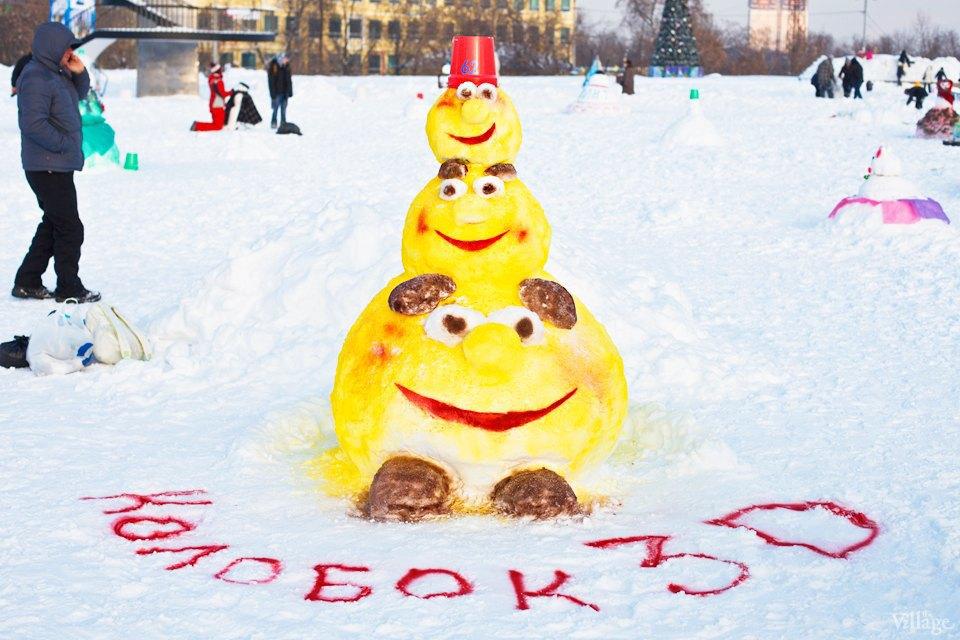 Люди в городе: «Арт-битва снеговиков». Изображение № 24.