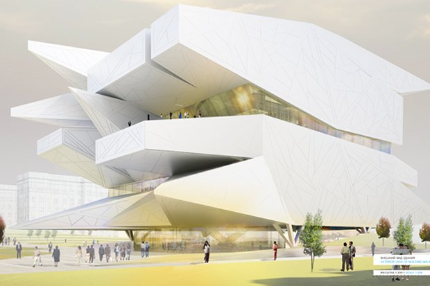 Представлены шесть проектов нового здания Политехнического музея. Изображение № 29.