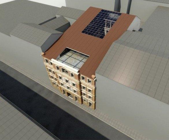 Опубликован проект гостиницы наместе кластера «Архитектор». Изображение № 4.