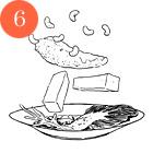 Рецепты шефов: Грудки голубя с орехами кешью и полентой. Изображение №9.