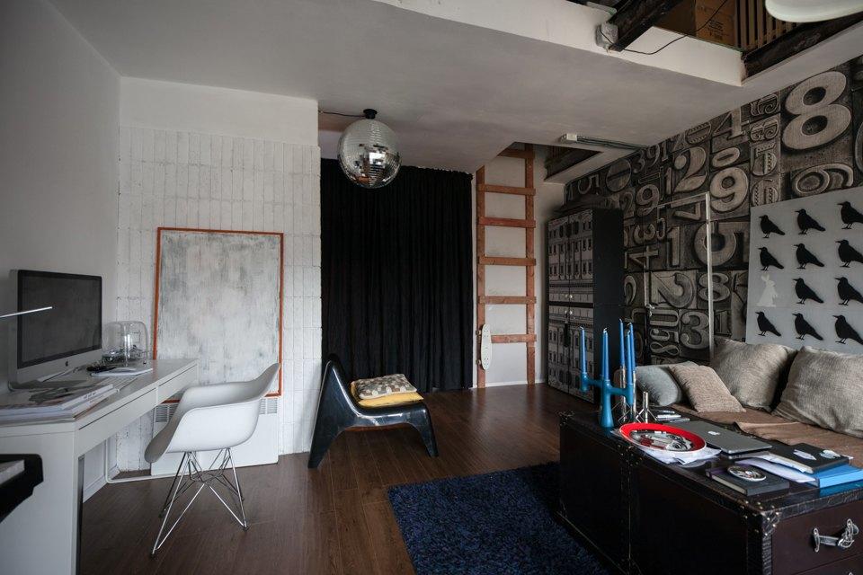 Двухъярусная квартира вГрафском переулке. Изображение № 4.