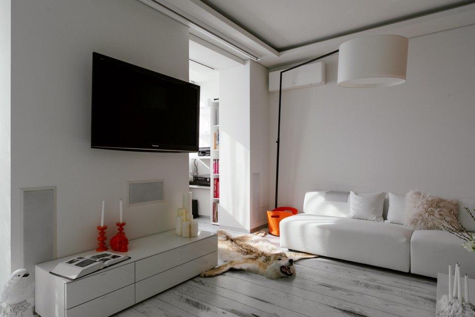 Минималистская двухкомнатная квартира наМожайском шоссе. Изображение № 9.