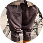 С твидом на город: Участники первого «Ретрокруиза»— о своей одежде и велосипедах. Изображение №40.